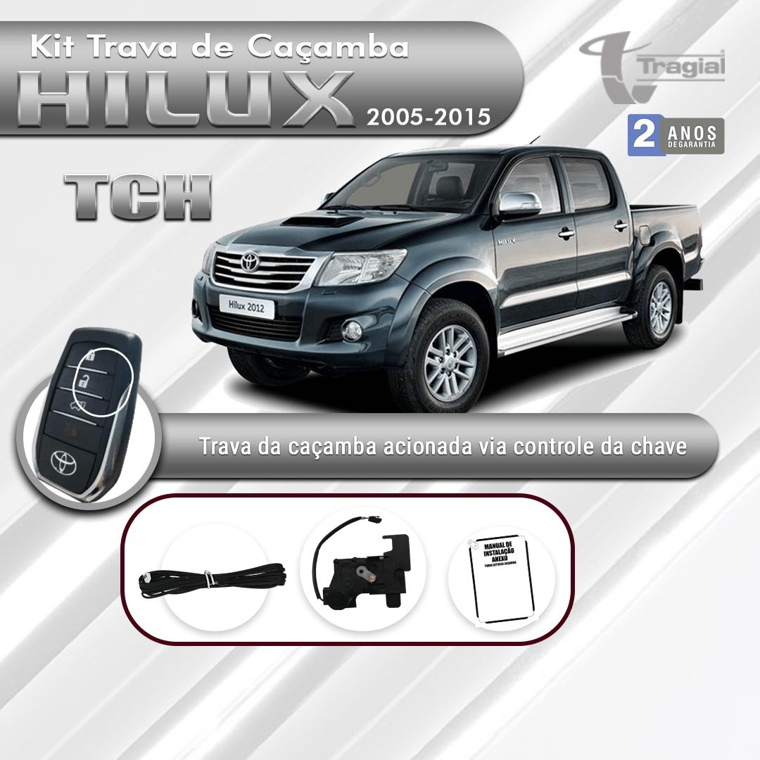 Kit Trava de Caçamba Toyota Hilux 2005-2015 Tragial