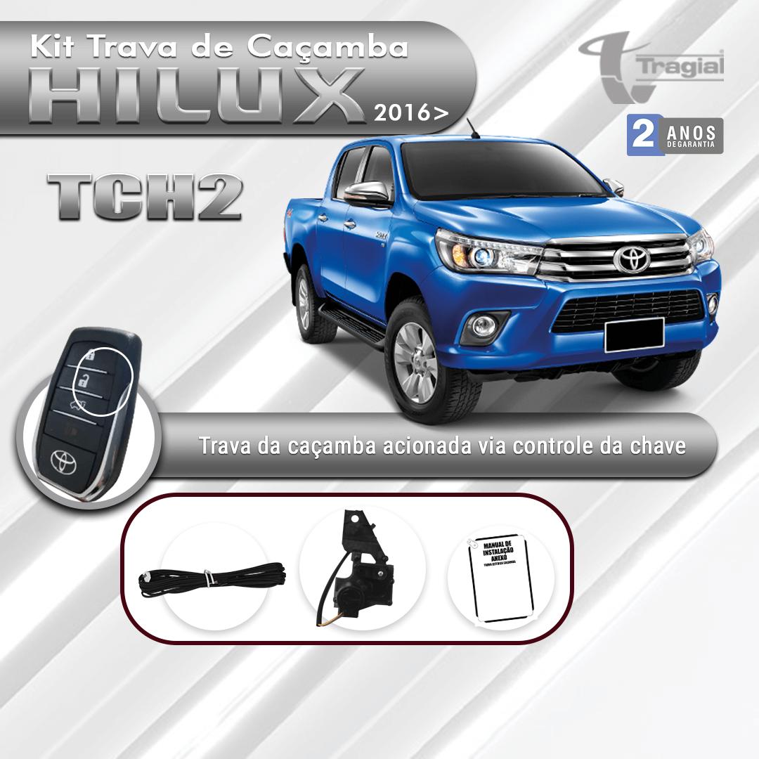 Kit Trava de Caçamba Toyota Hilux 2017 em Diante Tragial