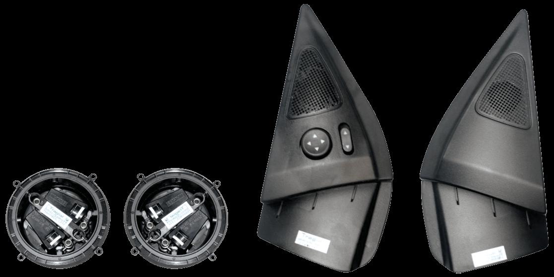 Kit Retrovisor Elétrico Sensorizado ( Tilt Down ) Fiat Siena HLX/ELX 2 Portas Tragial