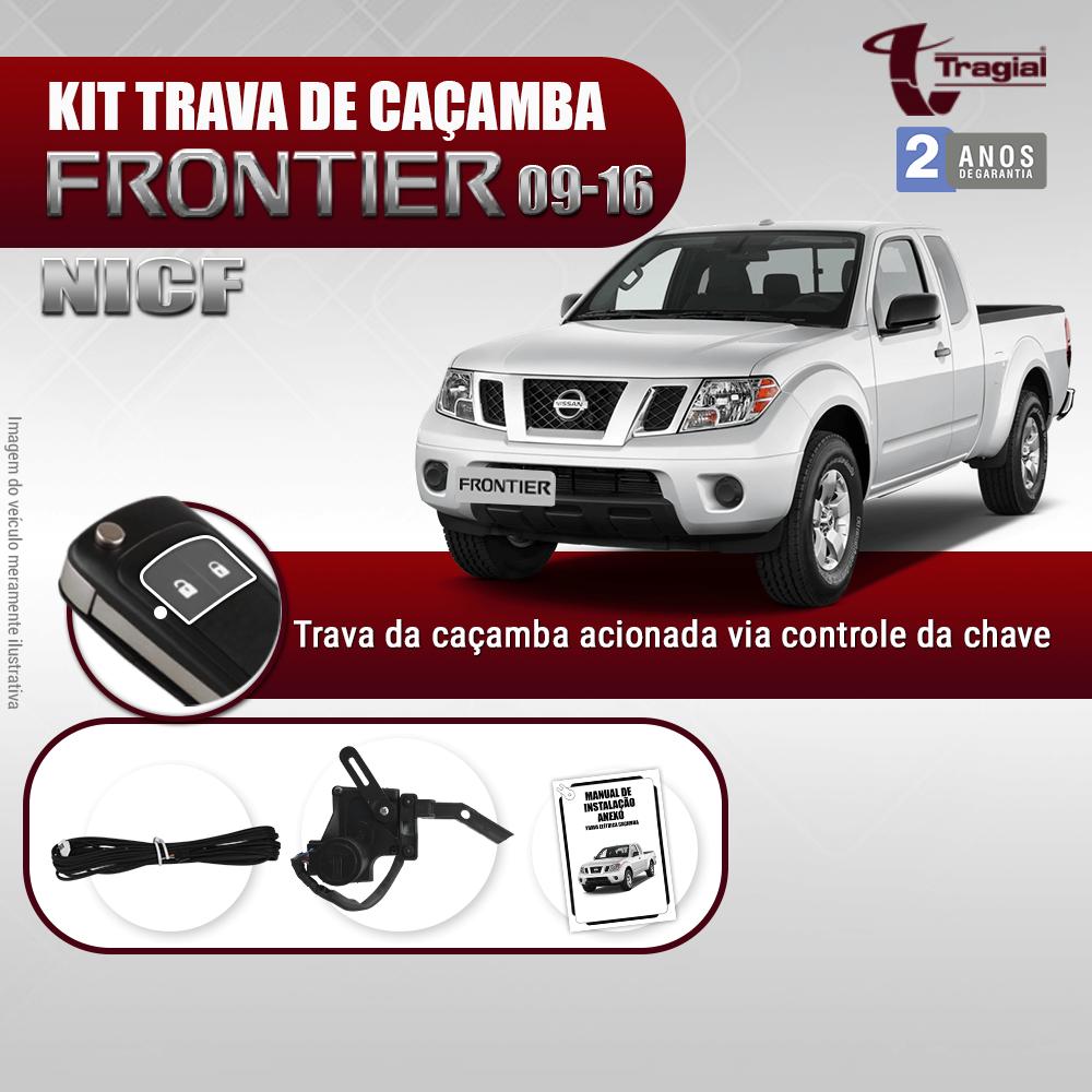 Kit Trava de Caçamba Nissan Frontier 2010-2016 Tragial
