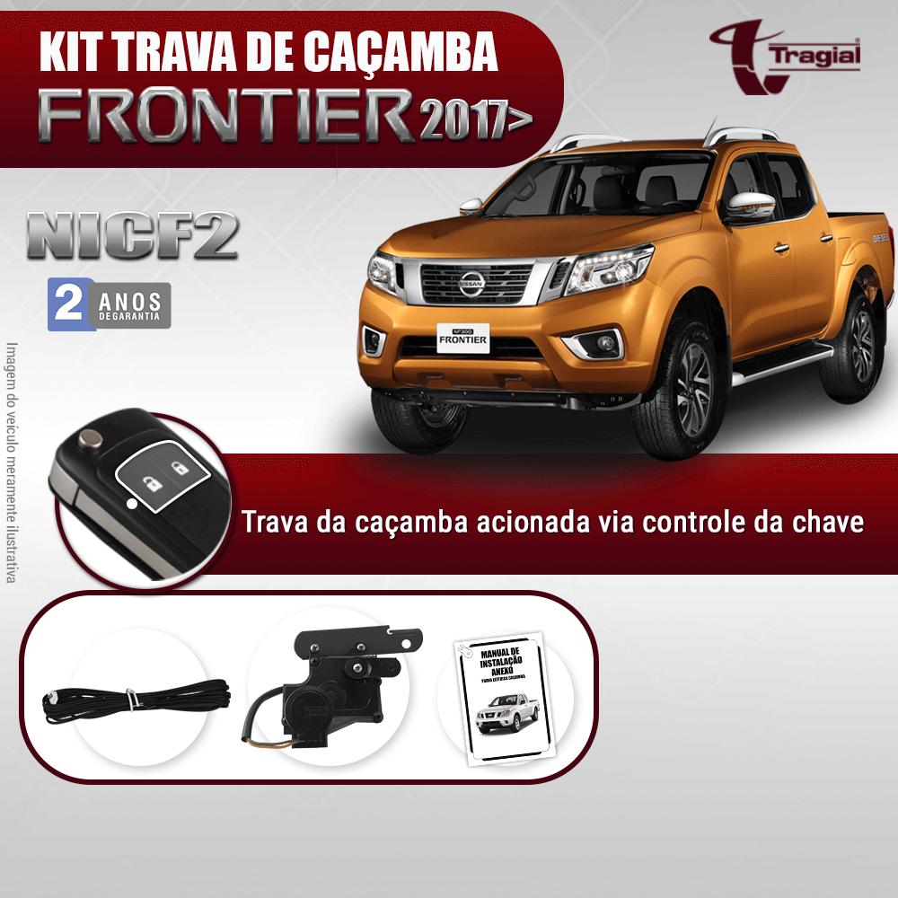 Kit Trava de Caçamba Nissan Frontier 2017 em Diante Tragial