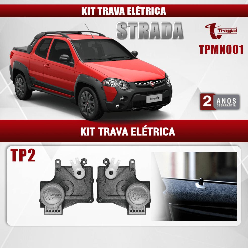 Kit Trava Elétrica Fiat Strada Tragial