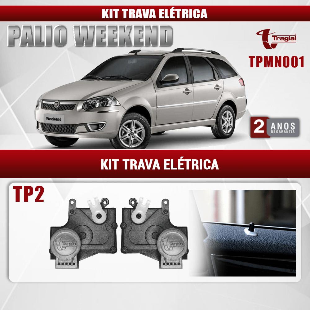 Kit Trava Elétrica Fiat Palio 2 Portas Tragial