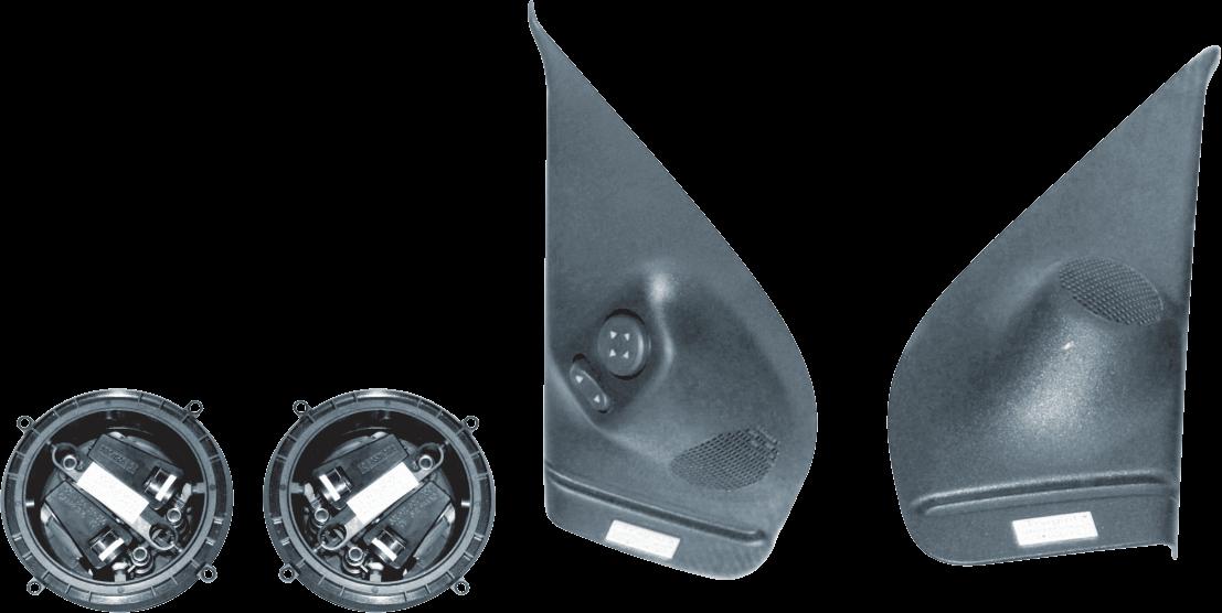 Kit Retrovisor Elétrico Sensorizado ( Tilt Down ) Fiat Siena Celebration 4 Portas Tragial