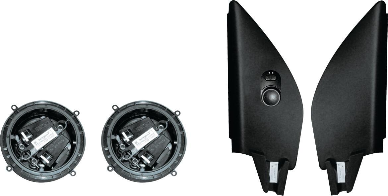Kit Retrovisor Elétrico Simples VW Voyage G6 4 Portas Alternativo Tragial