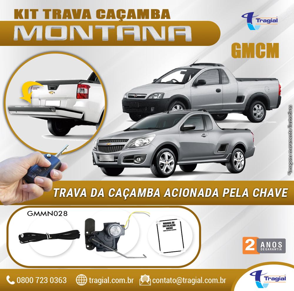 Kit Trava de Caçamba GM Chevrolet Montana Tragial